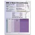 BMI and Waist Circumference Chart